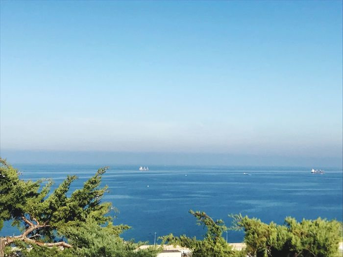 Sea Water Horizon Over Water Nature Beauty In Nature Scenics Tranquil Scene Blue