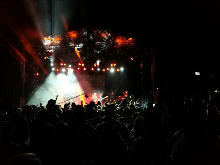 Music Nightlife Popular Music Concert Performance Stage - Performance Space Event Audience Enjoyment Music Festival Rock Music Crowd Fun