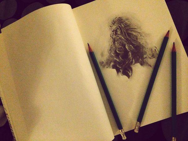 Sketchbook Sketch Zeus Drawing Art Art, Drawing, Creativity Creativity Creative Light And Shadow Draw Sketching
