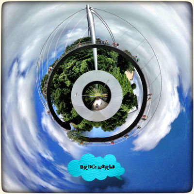 EyeEmNewHere No People Planet Earth Tinyplanet Tiny Planet Tinyworld Roll World Tinyplanets Tinyplanetfx IPhoneography Iphoneonly IPhone Edited Bridge