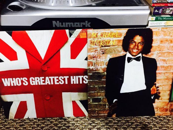 Classic Vinyl Music Michael Jackson The Who