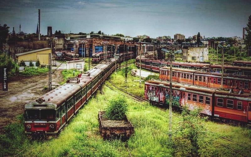an abandonded train station in Shenyang China Abandoned Buildings