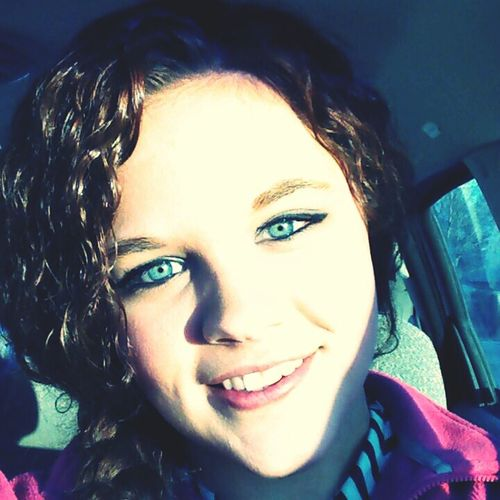 Blue Eyes, Curly Hair
