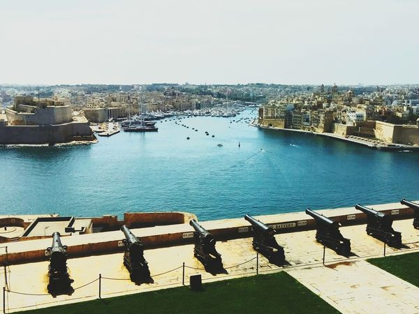 Malte Castle Castle View  Relaxing Sea Life Mediterranean  Sea And Sky City Street Beautiful Beautiful View Sun Daydream Enjoying Life Sea Each Day Is A Gift  La Valletta