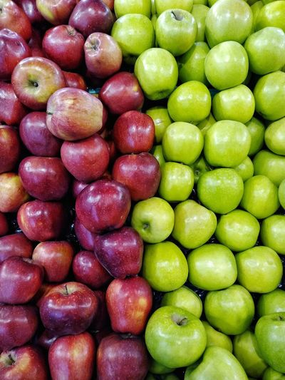 Apple Stockphoto Backgrounds Fruit Full Frame Close-up Food And Drink Green Color Farmer Market Granny Smith Apple Apple - Fruit Apple The Foodie - 2019 EyeEm Awards