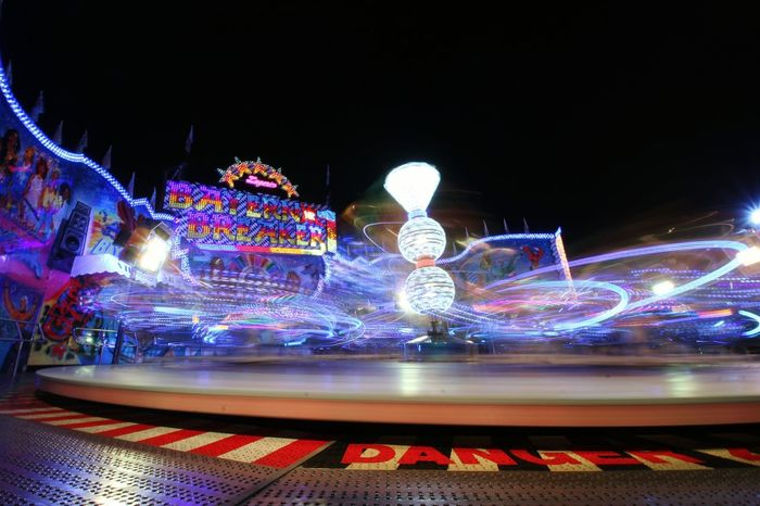 GERMANY🇩🇪DEUTSCHERLAND@ Germany Speyer Lighttrails Illuminated Multi Colored Amusement Park Ride Technology Arts Culture And Entertainment Light Trail Amusement Park Carousel Speed Long Exposure Light Painting Neon Neon Colored Glowing Entertainment Electric Light