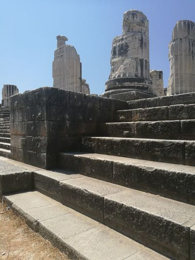 Gezinti Apollon Temple Apollon Tapınağı Ancient Civilization City Urban Skyline History Cityscape Architecture Building Exterior Built Structure Architectural Feature
