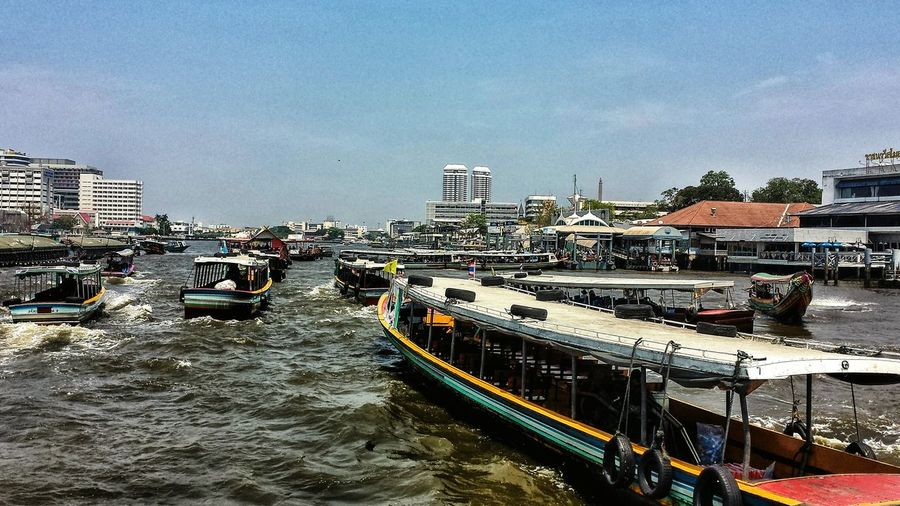 Chaophraya River ่Chao Phraya River Chaophraya Chao Phraya River Boats River Taxi Traffic Jam Krung Thep Bangkok Southeast Asia ASIA Thailand City Busy Sunshine Afternoon Spotted In Thailand Transportation Battle Of The Cities Miles Away Neighborhood Map Been There.