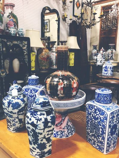 Vase Antique Antique Shop Shopping ♡