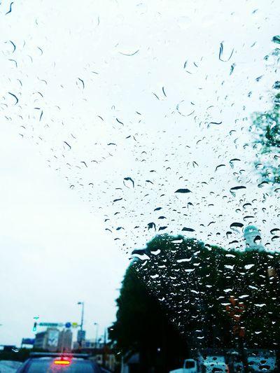 Soft F3 Rain Water Drops Window Shield