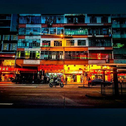 Hong Kong 2/3 Capture Tomorrow City Illuminated Architecture Building Exterior