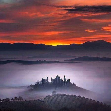 Tuscany Italy💙 Nature Is Freedom