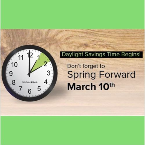 Just a friendly reminder!!! DaylightSavingsTime SpringForward WatchTheClock March10