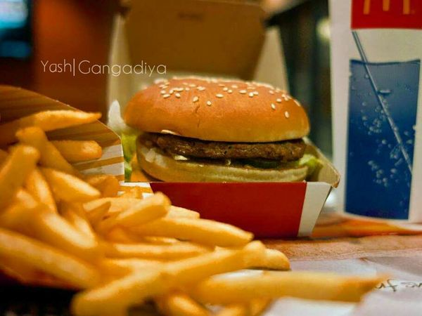 Mac Donald Burgers French Fries