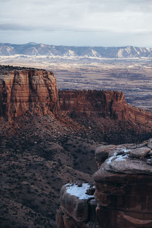 Colorado National Monument (Find me on IG @noeldxng) Be. Ready. Colorado Colorado Photography Perspectives On Nature Beauty In Nature Geology Landscape Nature No People Outdoors Physical Geography Rock - Object Rock Formation Scenics Sky Tranquil Scene Tranquility Travel Destinations Water