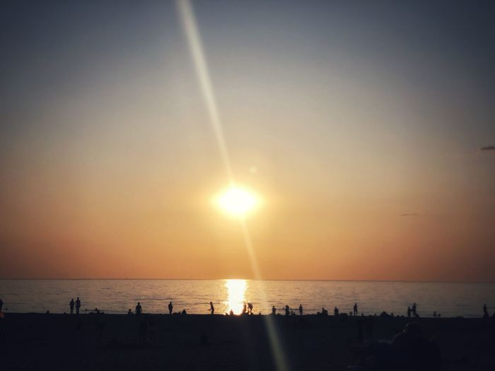 Sun Sky Water