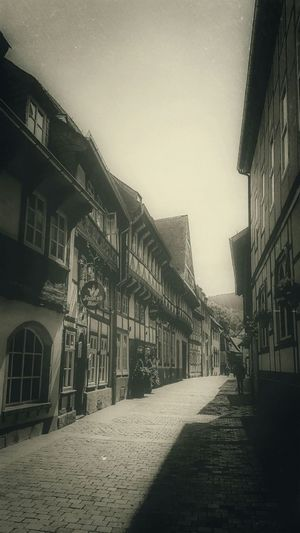 Timbered Houses in Vintage Style. Street Photography in Sepia Tone Loving Monochrome with Hänsel und Gretel Mood Captures in GERMANY🇩🇪DEUTSCHERLAND@