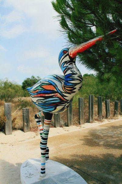 Bird Colours Statue