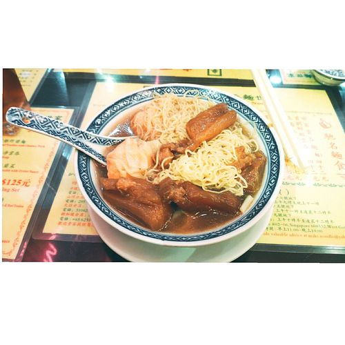 🍜🍜🍜Freshness Food And Drink Indoors  Table Food Ready-to-eat Close-up Day Healthy Eating Hk HKFood HongKong Hongkongcity Noodles Famous