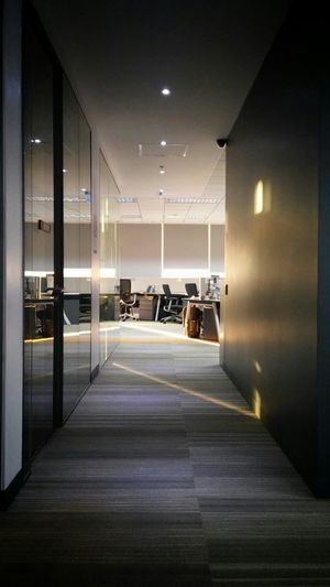 Eyeem Philippines EyeEm Best Shots Office Spaces Empty Places Light And Shadow Sunlight Time For Work This Morning Hallway Taking Photos