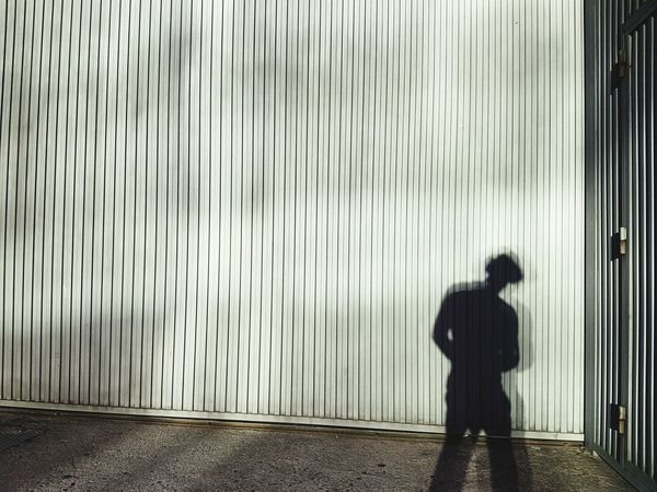 Shadow on a wall Shadow Wall Figure Silhouette Body Curves  Outdoors