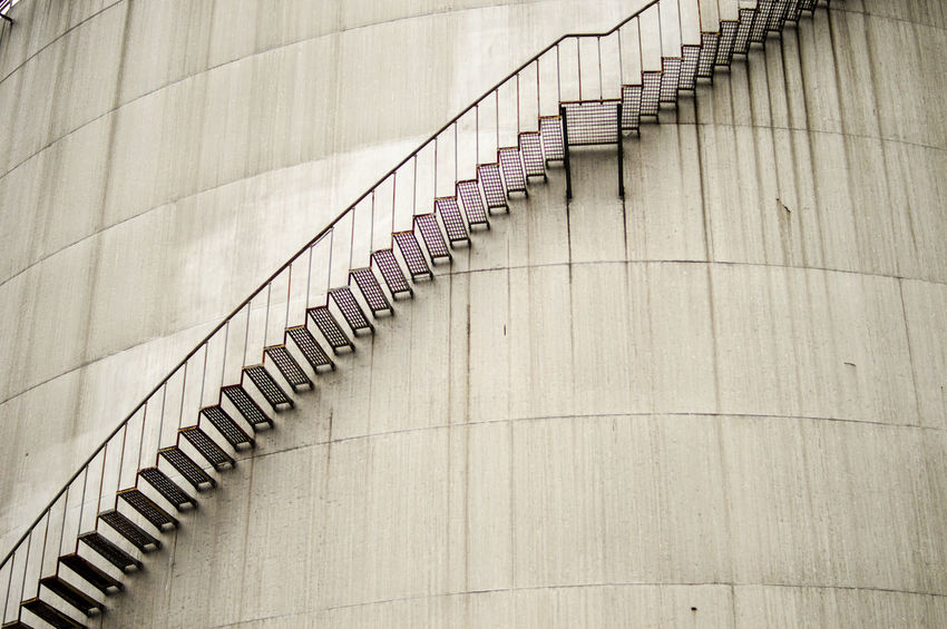 The journey is the reward Industrial Industry Architecture Background Backgrounds Close-up Concrete Concrete Wall Curve Day No People Outdoors Pattern Spiral Staircase Staircase Steps Steps And Staircases