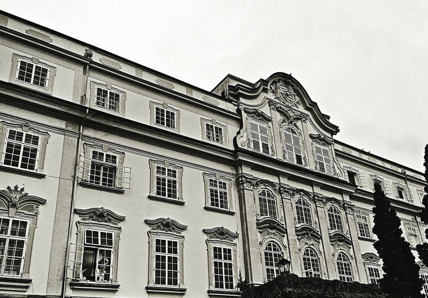 Schloss Leopoldskron Schloss Leopoldskron Salzburg The Sound Of Music Castle Bnw Bnw_friday_eyeemchallenge Austria