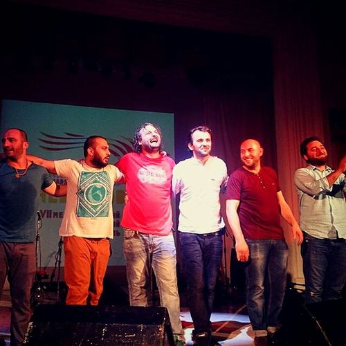 """Amazing Concert Mgzavrebi Tuesday Evening Amazing guys!!!🎸🎼🎶🎶🎤😍 Georgian group """"Mgzavrebi""""! Incredible emotions and a charge of positive energy!🙌👏 Soul sings!!!🎶🎼🎉🎉🎉💞"""