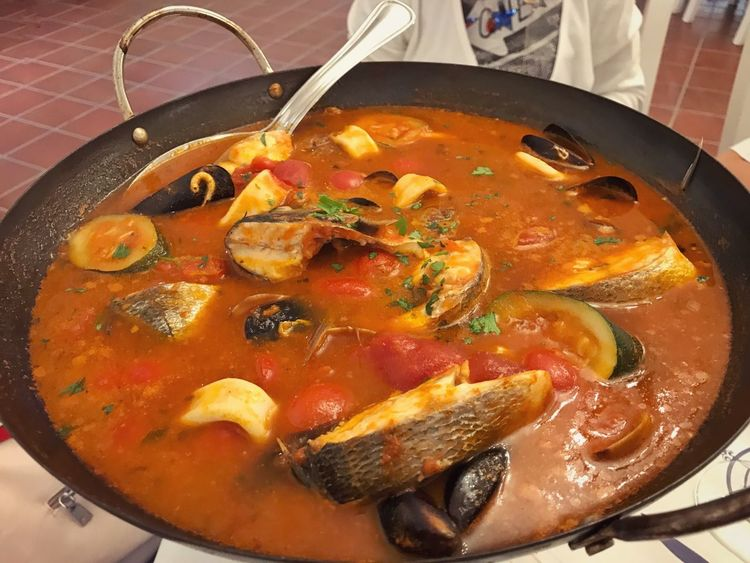 Costa Sud - Sicilia Eating In Sicily Sicilia Sicily Food Food And Drink Kitchen Utensil Healthy Eating Freshness Ready-to-eat Wellbeing Eating Utensil Household Equipment Spoon Indoors  Still Life High Angle View Vegetable Meat Close-up Fruit Serving Size No People Tomato