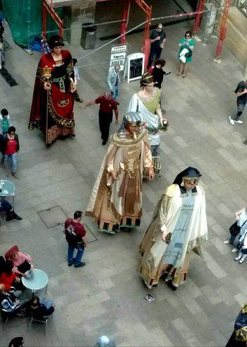 Gigantes de la Ciudad de Lerida. City Gegants