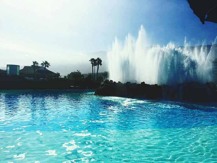 Teneriffa Water Blue Summer Pool