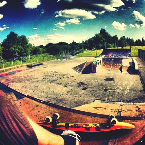 spent all my life here..miss the old park Skateboarding Bristol, England Bristol