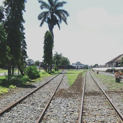 I'll follow my own path Railway Path Railwaystation INDONESIA