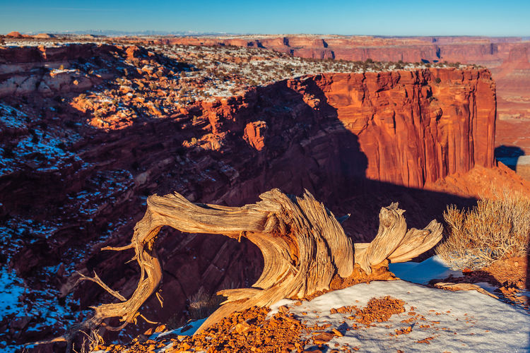 Rock Formation At Canyonlands National Park