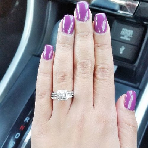 Nailsdid Phreshmani OPI Purple favoritecolor Wednesday