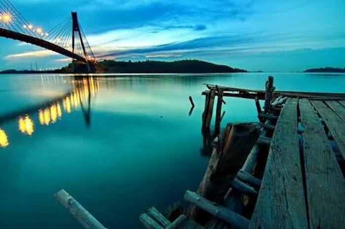 Night View Batamisland Batam-Indonesia
