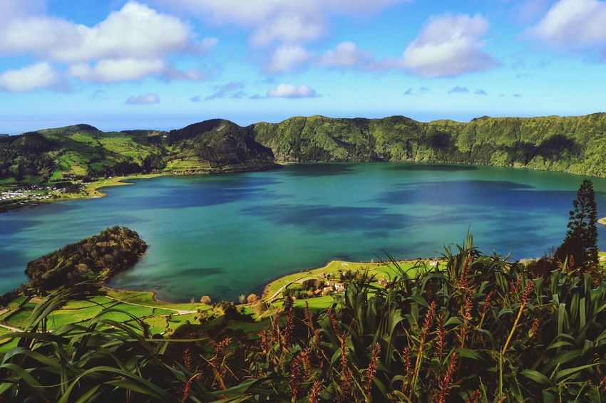 Beautiful Nature Lagoas Sao Miguel Açores