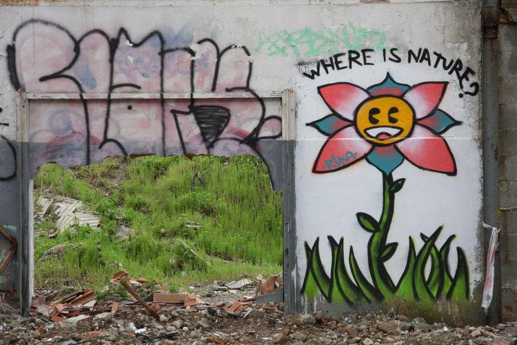 Broken Wall Citylife Factory Graffiti Meta Photography Nature Urban Archeology Wall Whereisnature