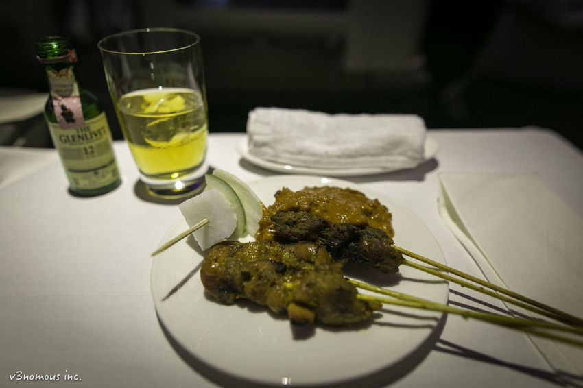 A Business Class Drinking Glass Food Food And Drink Freshness Malaysia Satay Temptation