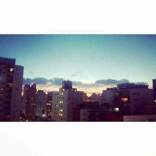 Bright Lights, Big City, she dreams of love. Bright Lights, Big City, he lives to run. <3 City Brazil Saopaulo Love sunset lights sky mars echelon