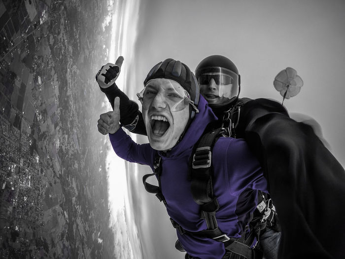 Nothing like capturing that moment of pure joy when you are falling from the sky at 120 mph! Enjoy The New Normal Skill  Outdoors Day Skydiver Sky Skydiving Falling Flying Goprohero4 Gopro Goprooftheday Skydive Oregon Go Higher Focus On The Story #FREIHEITBERLIN The Portraitist - 2018 EyeEm Awards Summer Sports Be Brave
