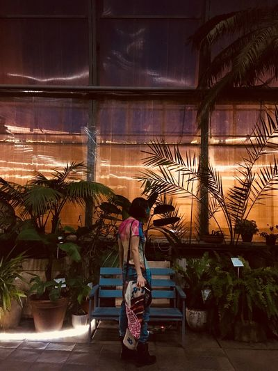 Don't think Tavrichesky Garden Saint Petersburg Real People Plant One Person Full Length Tropical Climate Lifestyles Potted Plant