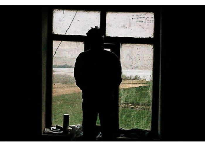 Silhoutte Silhouette Indoors  Mustang Peace Nepal Travel Jomsom