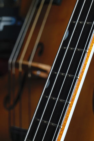 Arts Culture And Entertainment Cello Classic Music Close Up Fretboard Gretsch Guitar Guitar Strings Indoors  Music Music Musical Instrument Musical Instrument String No People Rock Music String Instrument Vintage Guitar