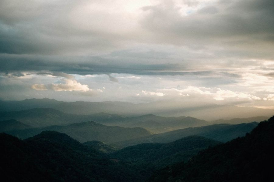 Mountain Cloud - Sky Scenics - Nature Sky Mountain Beauty In Nature Landscape Tranquility Mountain Range Tranquil Scene Environment Nature Cloudscape Outdoors Dramatic Sky Sunset Non-urban Scene The Traveler - 2018 EyeEm Awards The Great Outdoors - 2018 EyeEm Awards
