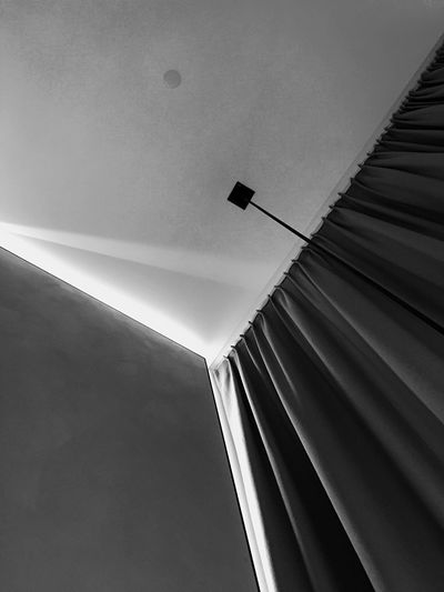 Low Angle View Architecture Interior Design Patterns & Textures Light And Shadow Conservatorium Van Amsterdam IPhoneography Black And White Black & White Netherlands Architecture Ceiling Abstract