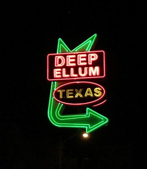 Texas Deep Ellum Neon Neon Lights Contrast Eyem Best Shots