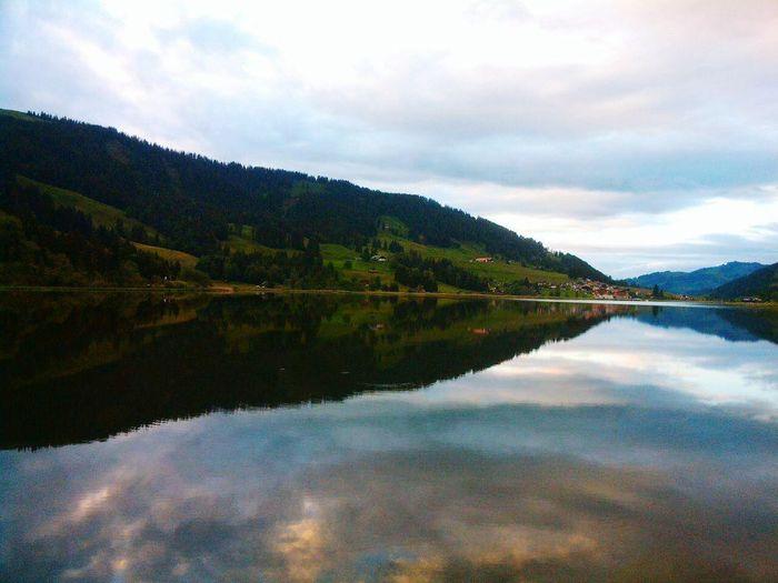 Switzerland_2016 Switzerland❤️ Reflection No People Nature