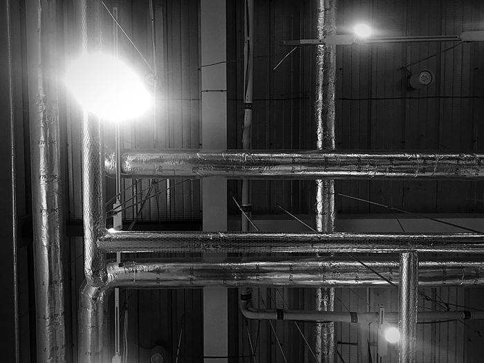 Ceiling Duct Pipe Ductpipe Blackandwhite Photography Black And White Blackandwhite Bnw Metal HVAC