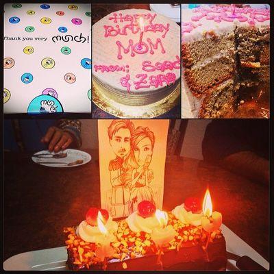 Tooo many celebrationsss! Happy Birthday hud huds and a very Happy wedding anniversary to my loves!!! ??